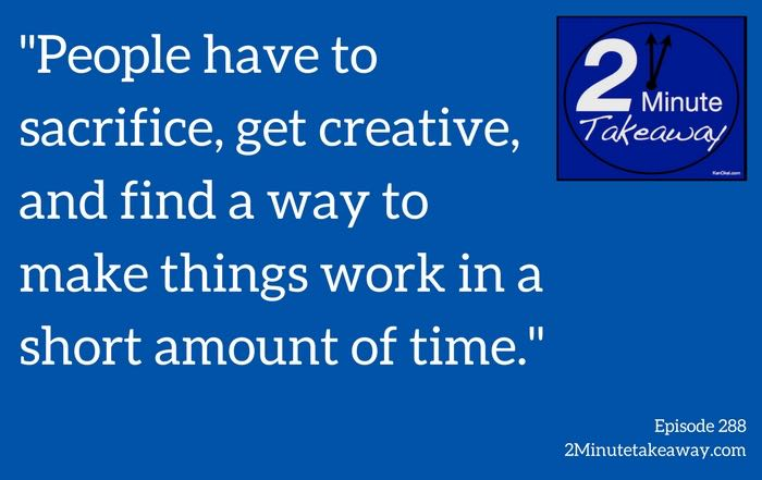 the newsroom deadlines secret, Ken Okel 2 minute takeaway podcast Episode 288