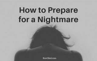 How to Prepare for a Nightmare, Ken Okel professional Speaker in Florida Orlando Miami