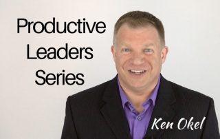 productivity tips for leaders series, Ken Okel Keynote speaker in Miami Orlando Florida, productivity tips