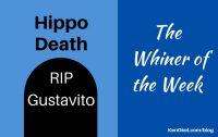 hippo murder, whiner of the week, Ken Okel Keynote speaker in Florida