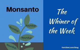 Monsanto is the whiner of the week