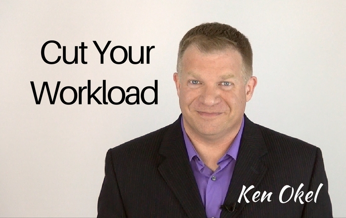 cut your workload, productivity tips for leaders, Ken Okel keynote speaker in Miami Orlando Florida