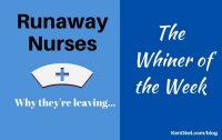 Runaway nurses, nurses leaving the profession, Ken Okel Miami Orlando Florida Professional Speaker