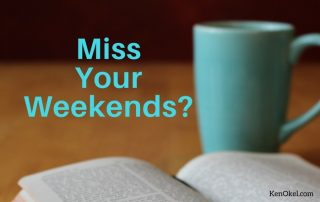 Get Your Weekends Back, Ken Okel, Ken Okel professional Speaker in Miami Orlando Florida, Productivity and leadership speaker