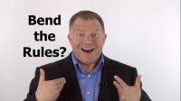 Bending the rules, productivity tips, Ken Okel, Professional speaker in Florida