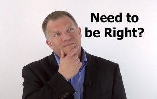 Need to be right, Productivity edge series, Ken Okel, Professional speaker in Florida