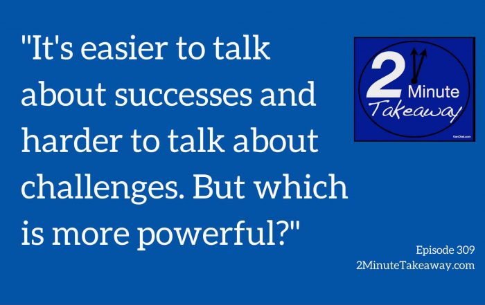 how to ask for help with networking, 2 minute takeaway podcast, Ken Okel