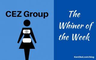 CEZ Group - Whiner of the Week, Ken Okel