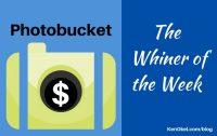 Photobucket is the Whiner of the Week, Ken Okel, Professional Speaker in Florida