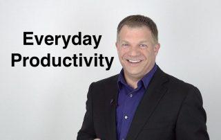 Everyday Productivity Series Introduction, Ken Okel Professional Speaker