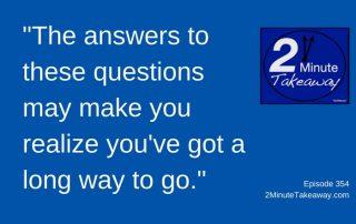 Need Trust in Your Business - 2 Minute Takeaway Podcast, Episode 354, Ken Okel, motivational speaker in Florida