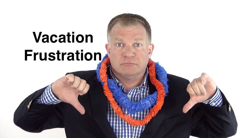 Take a Vacation from Work - Time off, Productivity Tip for Employees, Ken Okel, Motivational Speaker in Florida