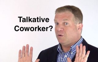 How to Silence a Talkative Coworker, Ken Okel, Motivational Speaker in Florida